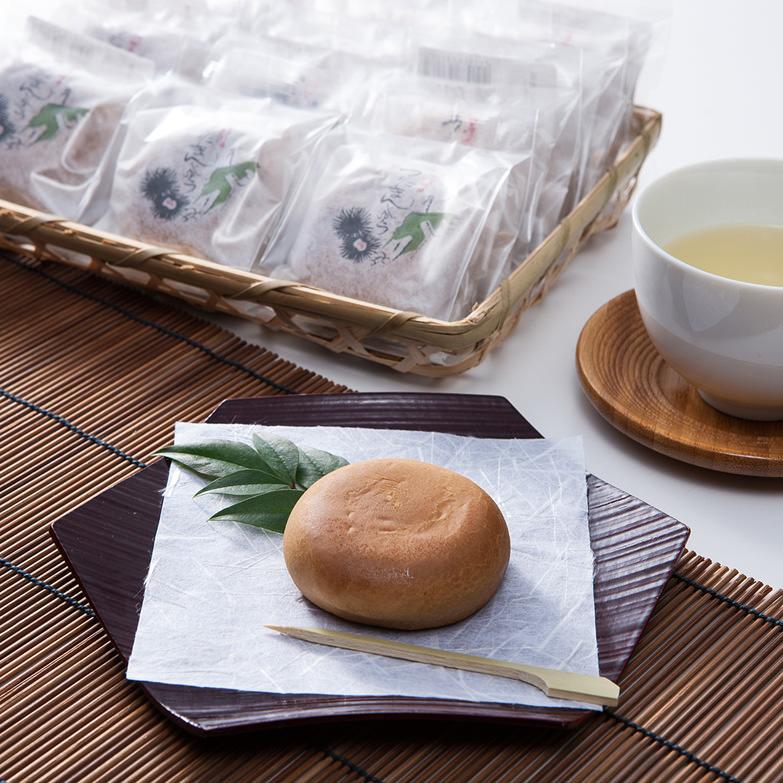 うにまんじゅうセット うにまんじゅうの田村 愛媛県 地元佐田岬半島で取れた雲丹の風味がほのかに広がる贅沢な和菓子