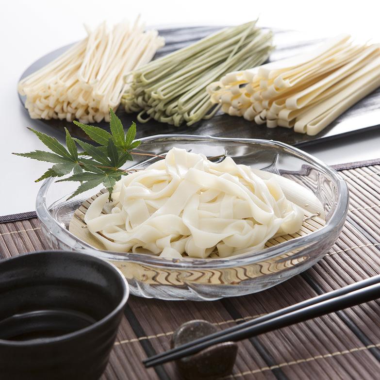 皇海麺(乾麺)詰め合わせセット 有限会社皇海麺藤谷商店 栃木県 豆乳と生ゆばを練り込んだ「ゆばうどん」が入った3種セット