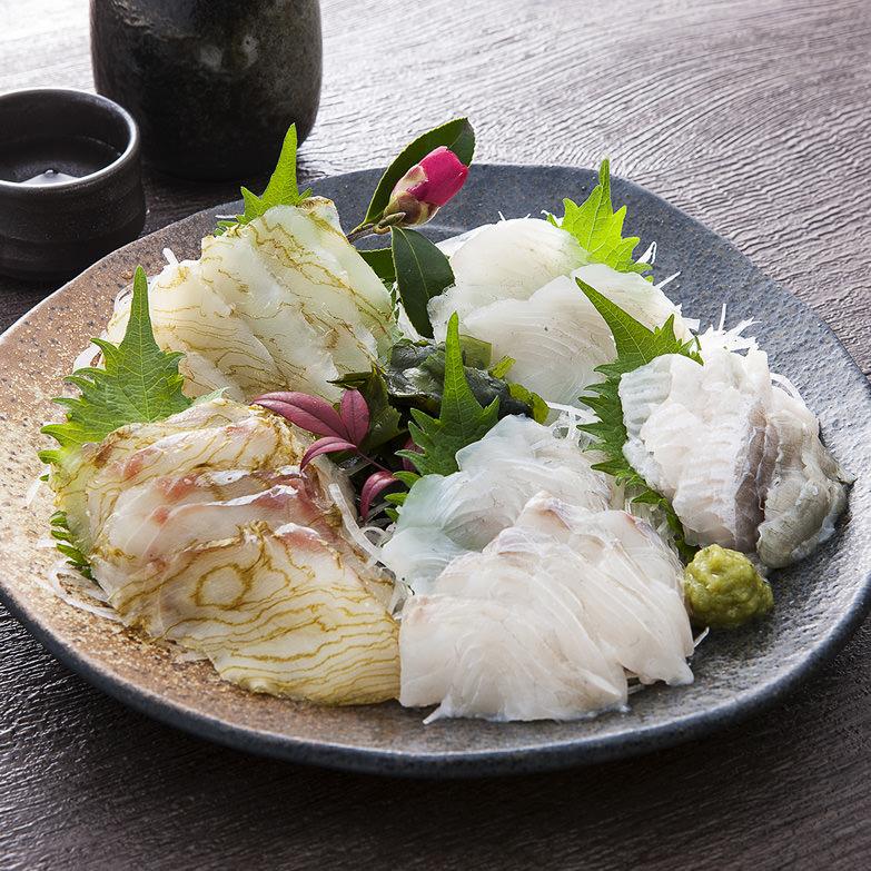近海お刺身セット 株式会社サンスイ 宮城県 世界三大漁場として名高い金華山沖で獲れた良質な鮮魚をお刺身でお届け