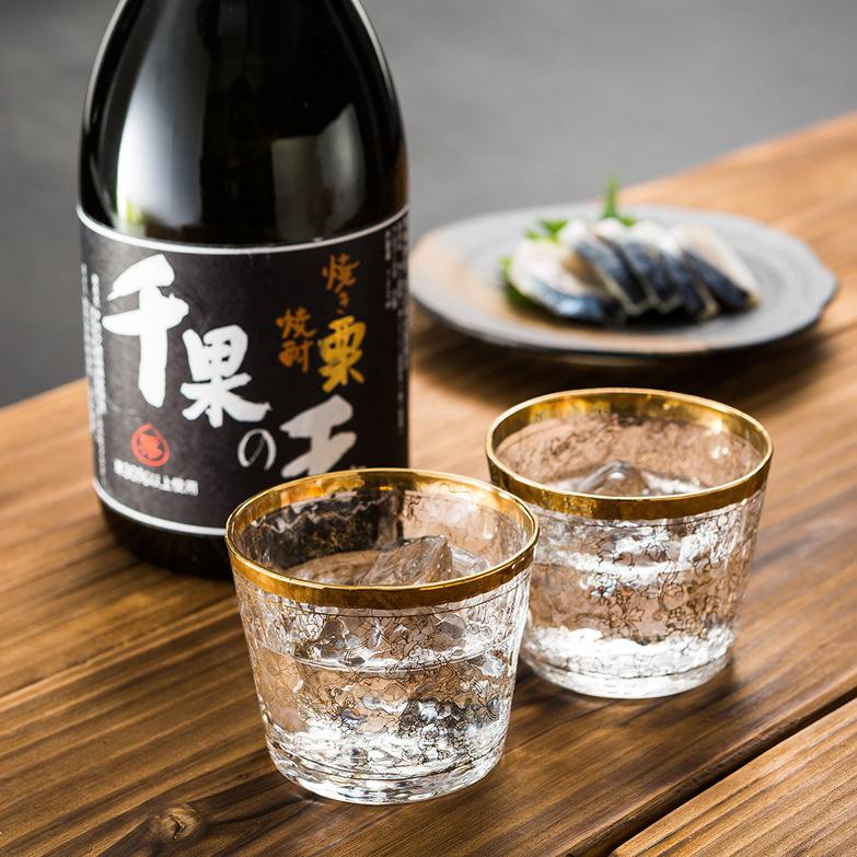 焼き栗焼酎「千果の王」 タカラ食品株式会社 徳島県 甘い香りとまろやかな口当たり。薬効成分をたっぷり含む本格栗焼酎