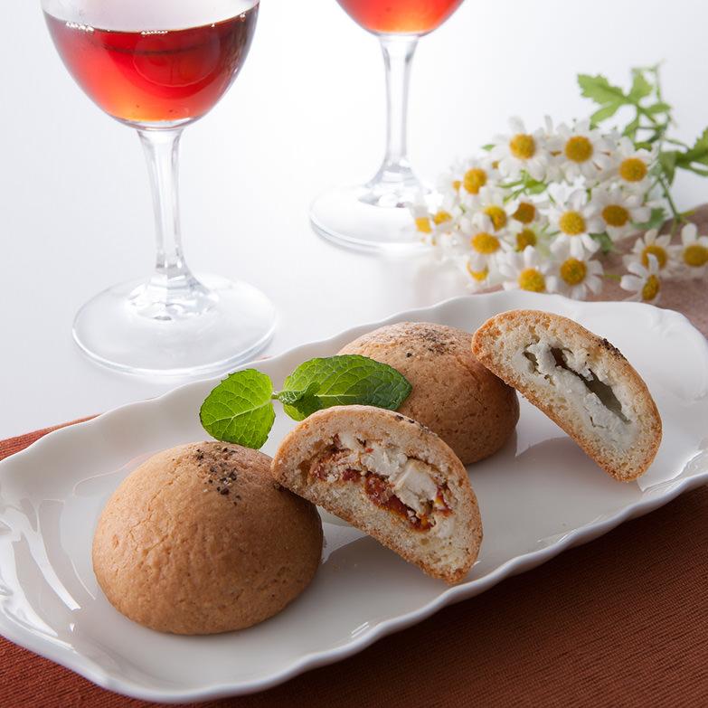 大人のチーズまんじゅう 菓子工房そらいろ 宮崎県 ワインのおつまみにもぴったり、新感覚のおしゃれな大人スイーツ