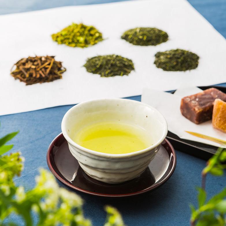彩・セットA 千歳園 埼玉県 「色は静岡、香りは宇治、味は狭山」と評される濃厚でコクのある狭山茶の詰め合わせ