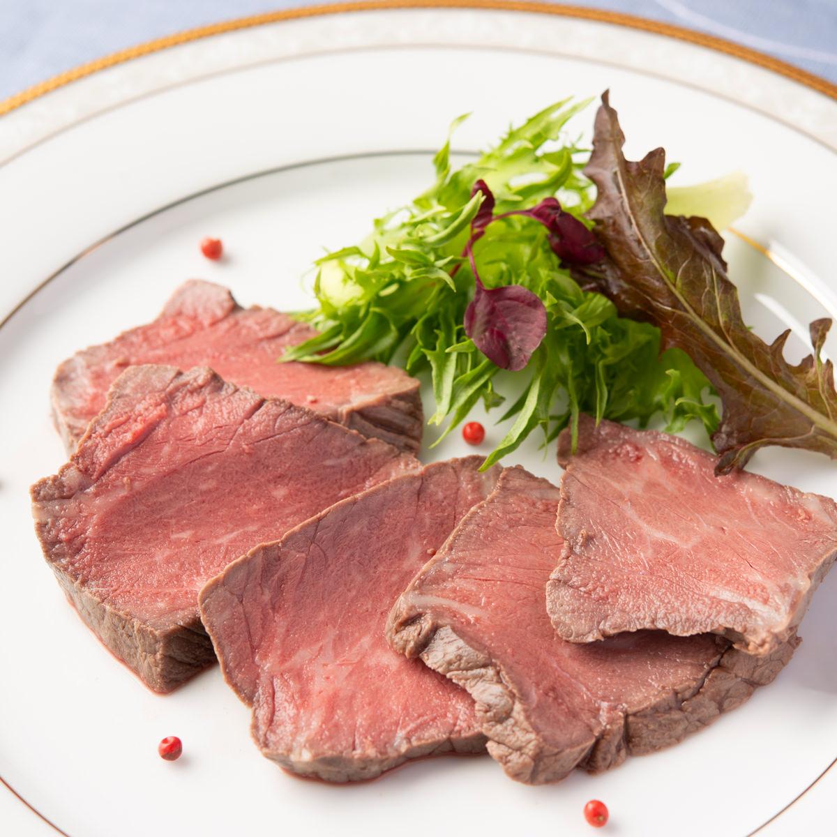 飛騨牛ローストビーフ 〔280g以上不定貫×2〕 岐阜県 牛肉 シーポート