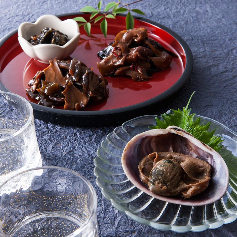 三河湾貝珍 ヤマウフーズ 愛知県 日本有数の貝の産地として知られる愛知県・渥美半島で獲れた貝の佃煮いろいろ詰合せ