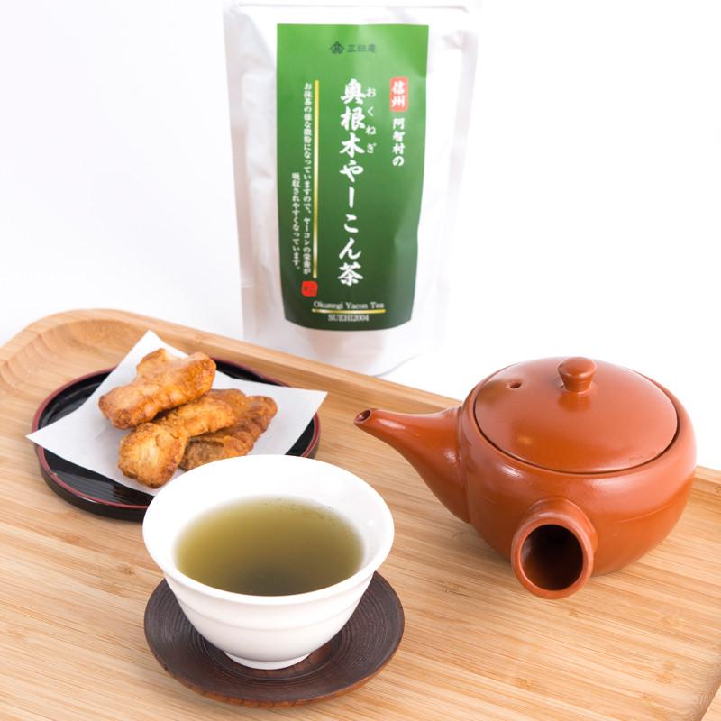 奥根木やーこん茶〔100g×2袋〕