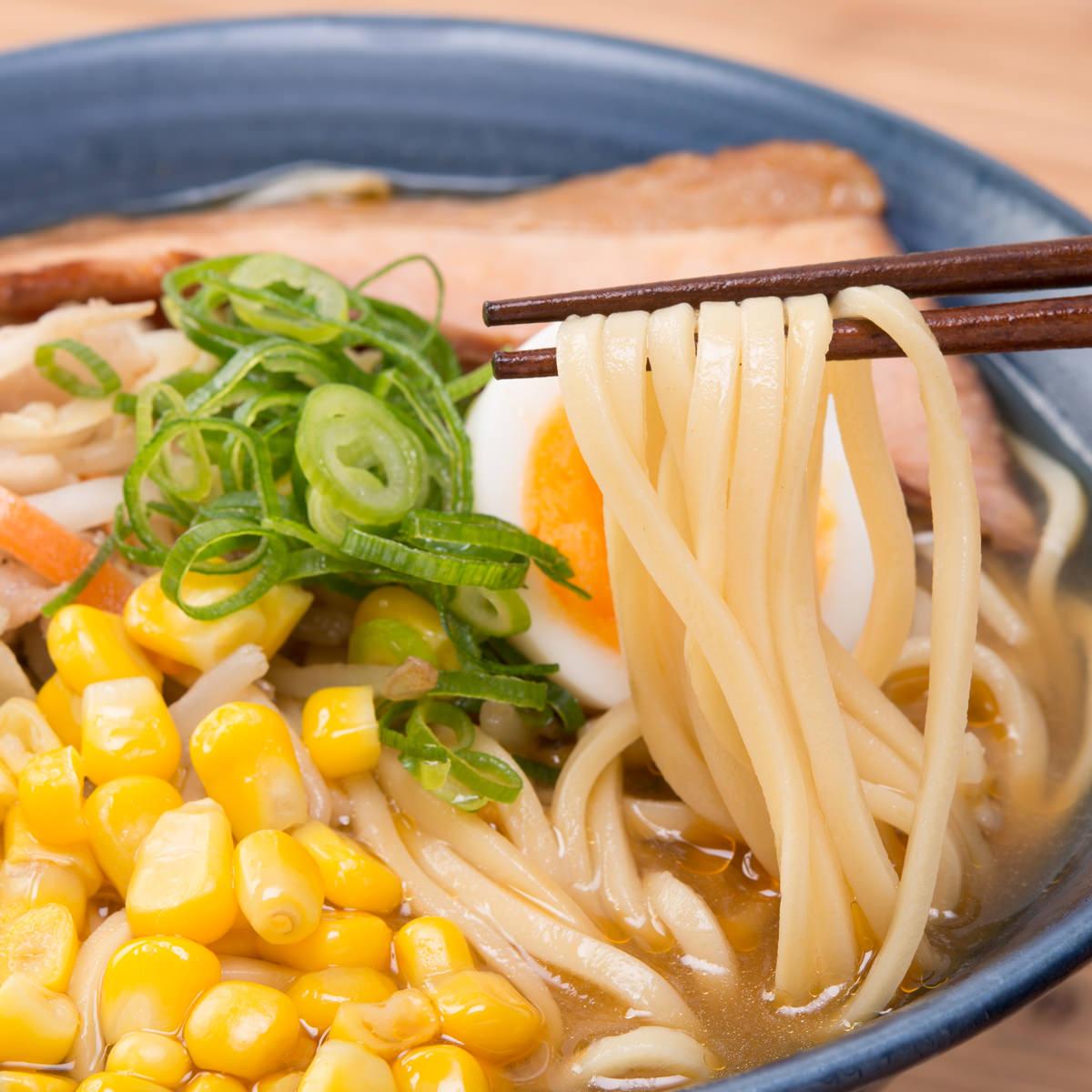 昔懐かしい中華そば 美味しいラーメン 築地の中華そば 味噌 6食〔味噌×6〕