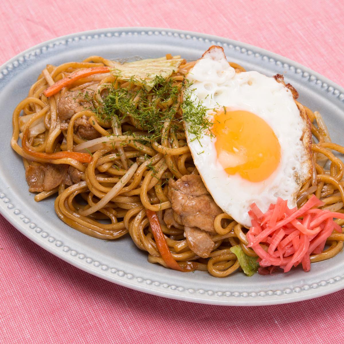 麺が美味しい生麺焼きそば 中華味焼きそば 3食 オタフク〔生中華麺100g×3・オタフクソース×3〕