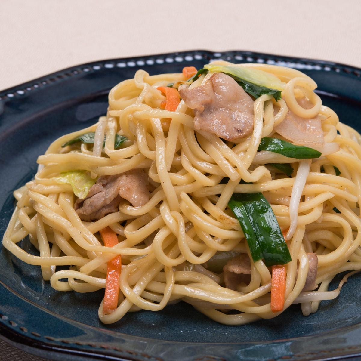 麺が美味しい上海焼きそば 中華味焼きそば 3食 上海〔中華麺100g×3・牡蠣油ソース×3〕