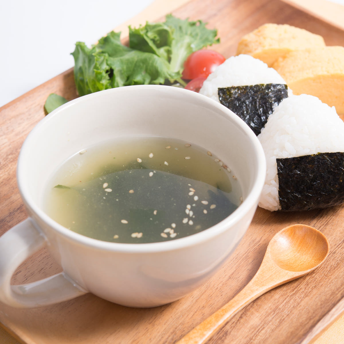 ランチスープにも便利 小分けパック即席汁 定番スープ わかめ〔75個〕