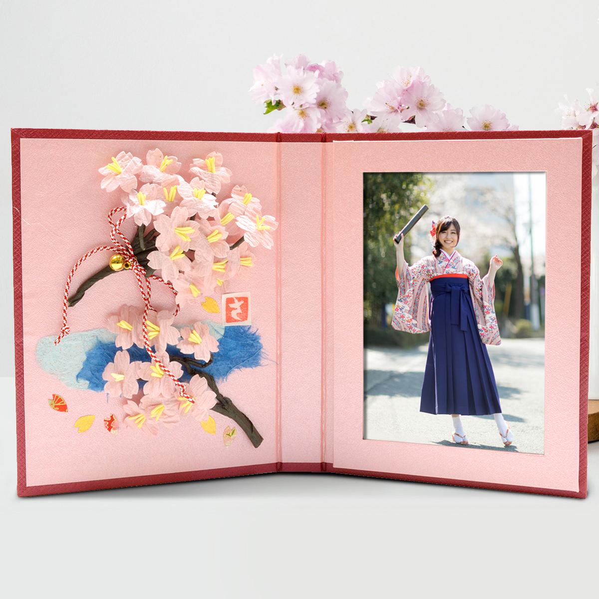 クリエイティブスポットボン 桜フォトステージ〔180mm×297mm〕