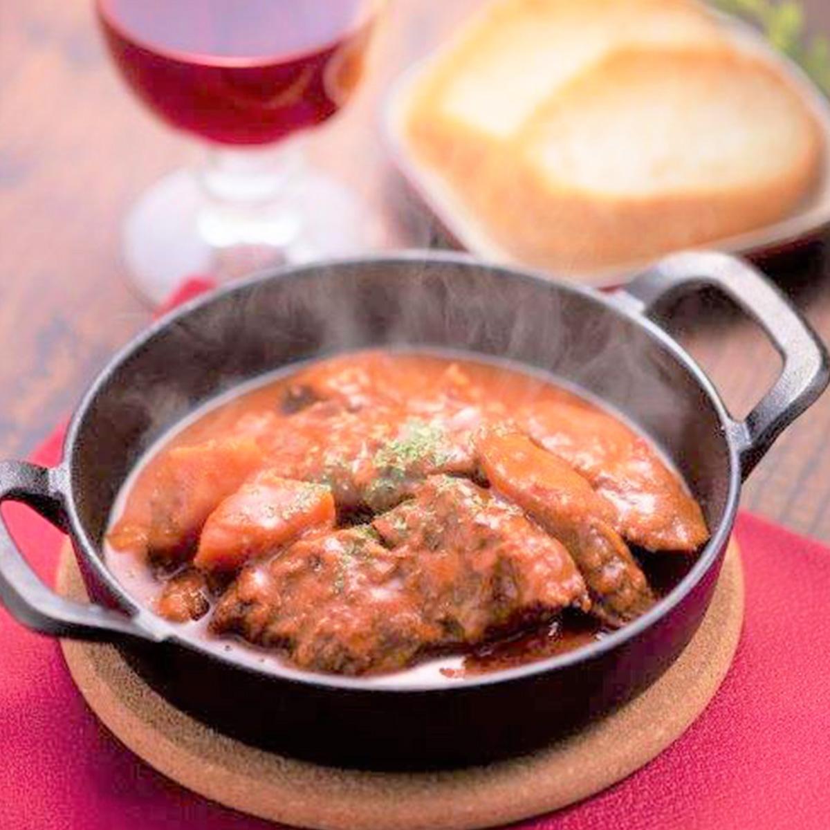 だい天 国産 豚バラ軟骨 みさわパイカ煮三種セット〔赤ワイン煮170g×2・トマト煮170g×2・みそ煮190g×2〕