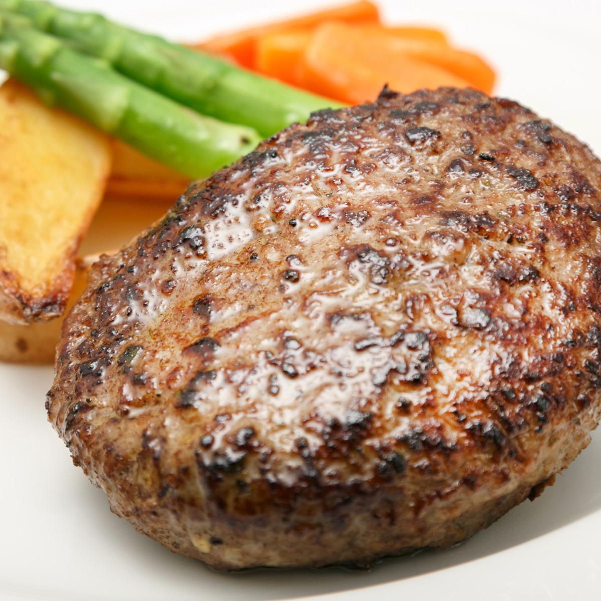 ラベットラダオチアイ 牛肉100%ハンバーグ〔ハンバーグ2種×各3・黒トリュフソース×1〕【沖縄・離島 お届け不可】