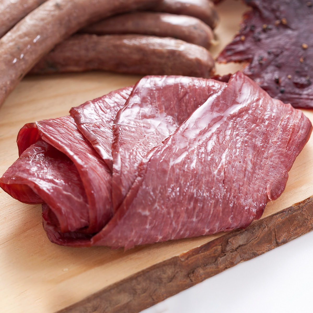 東京農大バイオインダストリー 低脂肪高たんぱく 北海道産 エミュースモークハム 2個セット〔40g×2〕