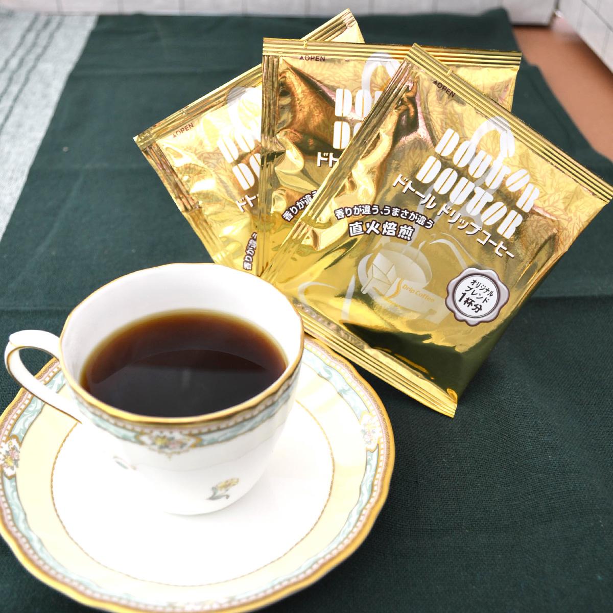 cafe etoile ドトールコーヒー&バウムクーヘンセットA〔ドリップコーヒー×4・洋菓子2種全6個〕