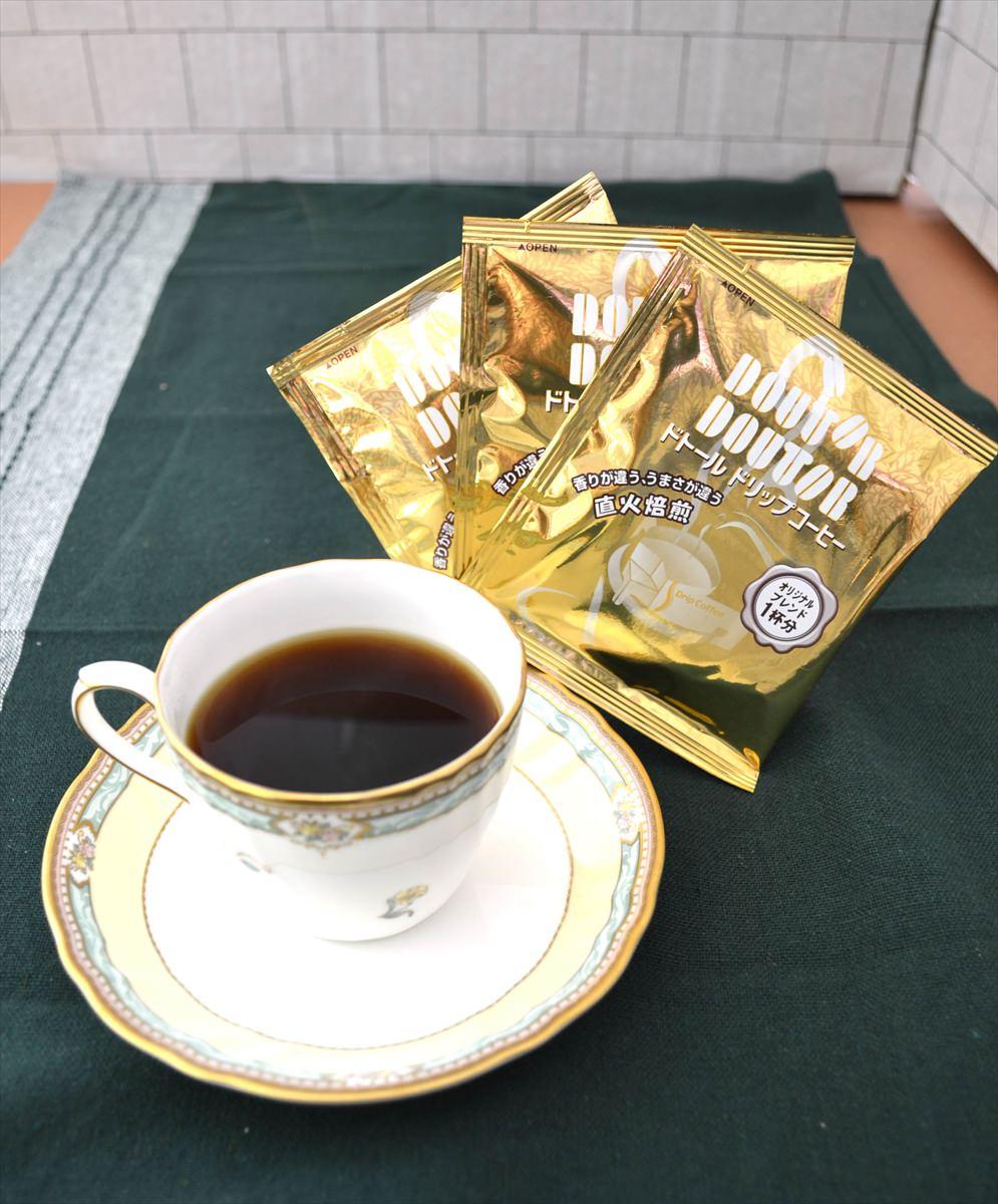cafe etoile ドトールコーヒー&バウムクーヘンセットB〔ドリップコーヒー×4・洋菓子2種全7個〕