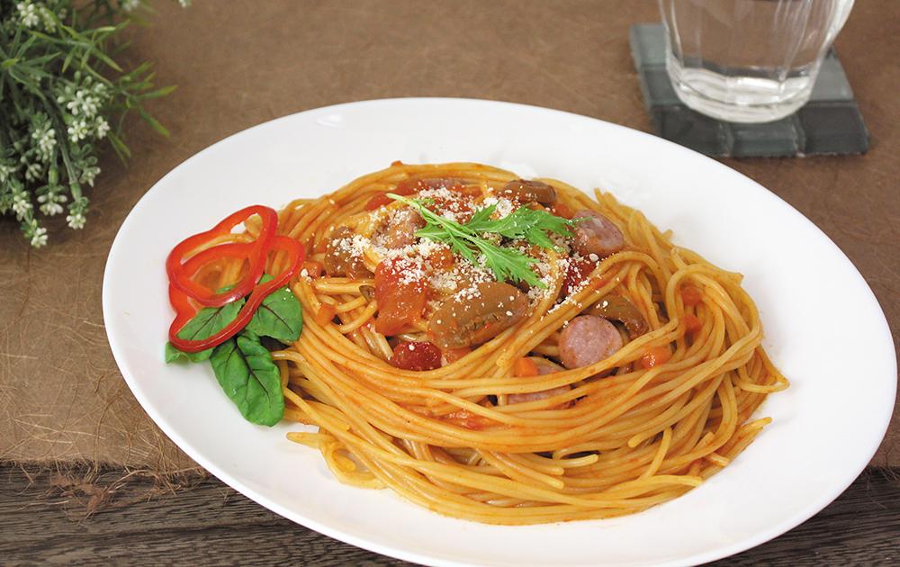 BUONO TAVOLA 化学調味料無添加ソースで食べる 自然派パスタスパゲティセット A〔スパゲティ他全4種5個〕