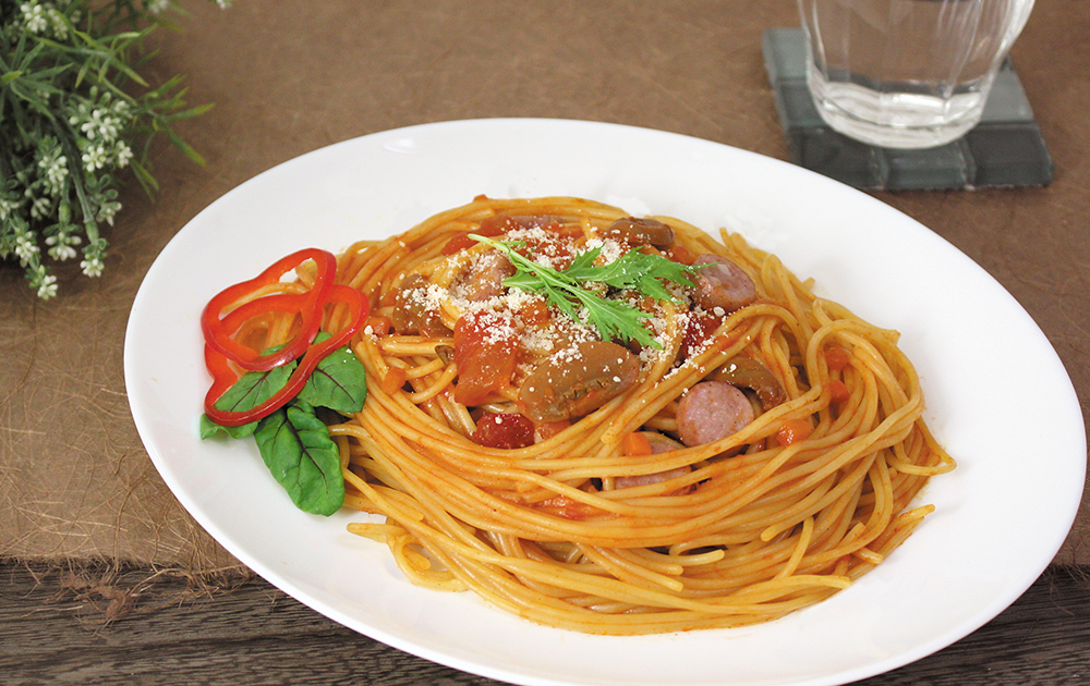 BUONO TAVOLA 化学調味料無添加ソースで食べる 自然派パスタスパゲティセット C〔スパゲティ他全5種7個〕