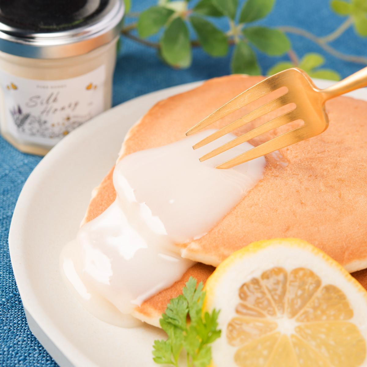 Asli キルギスの白いはちみつ Silk Honey 3個セット〔75g×3〕