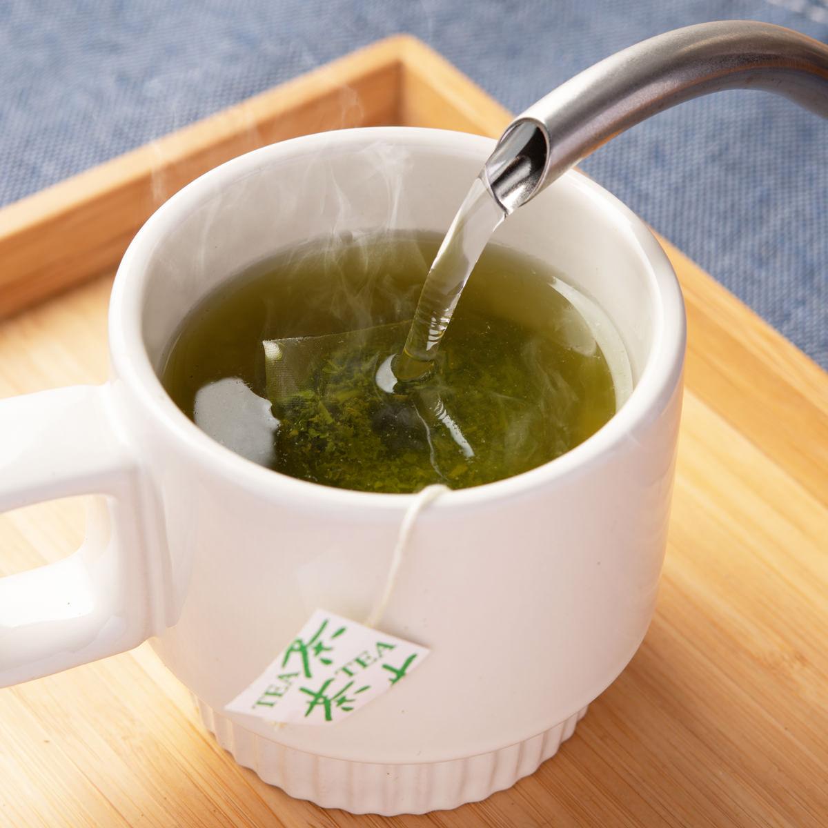 八女茶 ティーバッグ 〔3g×15p×2袋〕 福岡県産 日本茶 九州 たつみ園