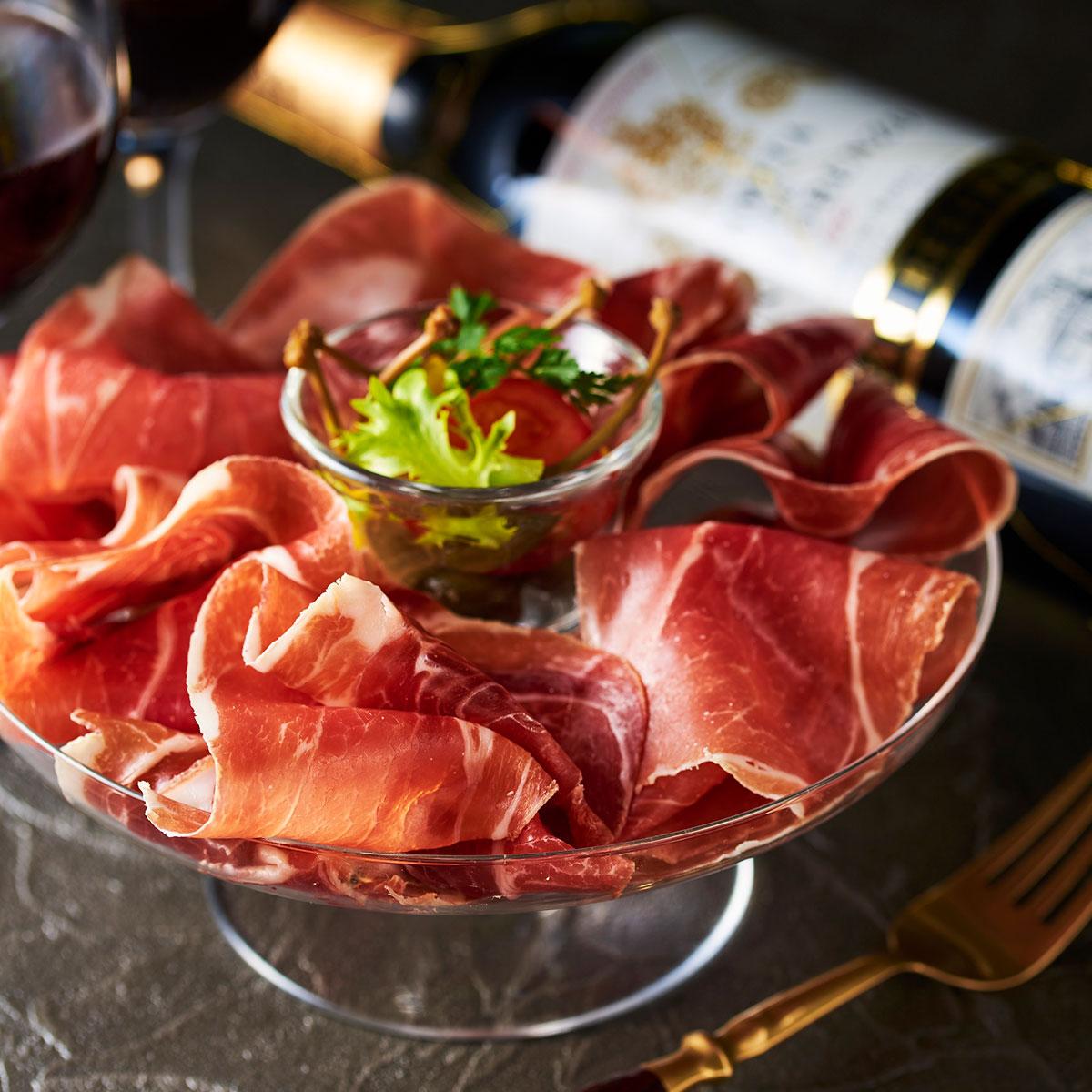 スペイン王室献上品生ハム食べ比べセット 4年熟成&30か月熟成
