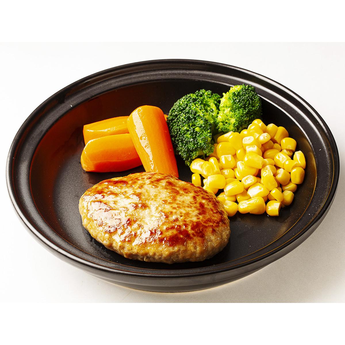 帯広ぶたいち 豚丼ハンバーグ 〔100g×20〕 ハンバーグ 惣菜 豚肉 北海道 北海道物産研究所