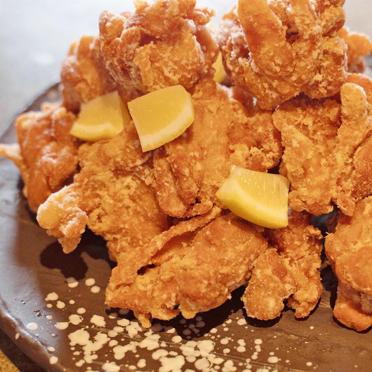 骨なしからあげ もも肉 〔鶏もも肉500g×5・片栗粉80g×5〕 からあげ 鶏肉 冷凍 大分 綾鶏