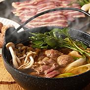 フランス鴨鍋つみれセット〔鴨つみれ2パック、鴨もも肉スライス1パック、鴨スープ4袋〕