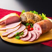 田園ハムギフトセット 株式会社田園 秋田県 山里の薫製工房が国産豚肉100%を材料に、保存料不使用で仕上げたこだわりハム