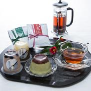 沢渡のスイーツ&お茶贅沢セット 株式会社ビバ沢渡 高知県 沢渡の製茶文化を守る若き茶農家のお茶とスイーツを満喫