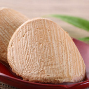 昔ながらの臼杵煎餅、黒糖臼杵煎餅をセットにしました。臼杵煎餅・詰合せ 後藤製菓・大分県