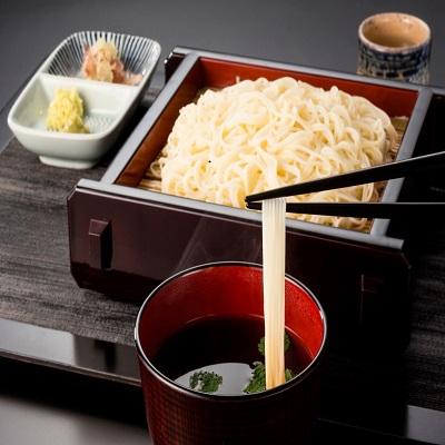 シャキシャキの食感の卵めんと喉越しがよく、腰の強いそうめんのセット。麺詰合わせ(MA-3) 吉田製麺・岩手県