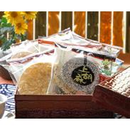 岩手県産南部小麦を100%使用。質の良い素材を使用した南部せんべいの詰合せ。志賀煎餅詰合せ 42枚入 志賀煎餅・岩手県