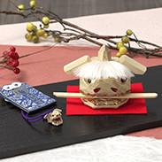 400年の伝統を現代に伝える工芸品・加賀獅子頭魔除け厄除けセット 加賀獅子頭 知田工房・石川県