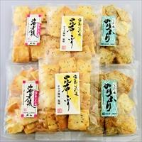 加賀あられ 3種 塩味 〔60g×6〕 あられ 和菓子 石川 加賀かきもち丸山