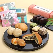 全菓連理事長賞で大賞受賞の品などをセットにしました。お菓子を食べる方が笑顔になりますように・加賀藩詰め合わせ 高倉製菓・石川県