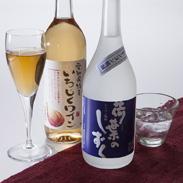 明治6年(1873年)創業の老舗造り酒屋が地元の特産品を使って作った レンコン焼酎荷葉のしずく・いちじくワインセット 鶴見酒造株式会社・愛知県