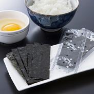 原料にこだわり、三河湾で採れた海苔を使った 味付のり天印100束 丸駒産業株式会社・愛知県