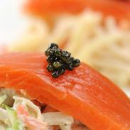 濃厚でクリーミーな味わい 国内養殖数の少ない希少種を使用したフレッシュキャビア(アムール) 小田原養魚・鹿児島県