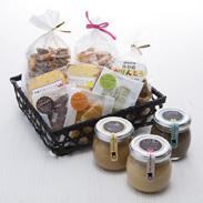 コンフィチュールとお菓子のアソート 社会福祉法人ぶなの木福祉会 岐阜県 コクのある牛乳をじっくりと丁寧に練り上げたミルクジャムと焼き菓子のセット