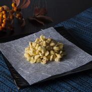 柚の香りと優しい甘さの干菓子 菜花糖 株式会社大黒屋 福井県 旧鯖江藩主の茶会でも使用され約三百年の歴史がある干菓子