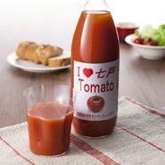 青森県七戸町のトマトで作った、食塩不使用・無添加ストレート果汁100%のトマトジュース アイラブ七戸トマト 有限会社みちのく農産・青森県