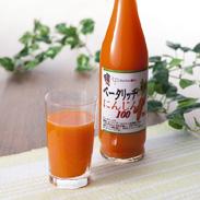 青森県七戸町からお届け。食塩不使用・ストレート果汁100%のにんじんジュース ベータリッチにんじん100 有限会社みちのく農産・青森県