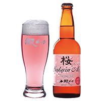 網走ビール 桜エール6本セット〔330ml×6〕春季限定【沖縄・離島 お届け不可】