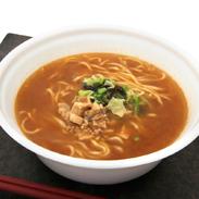 弟子屈味噌カップ麺12食入り〔166g×12食〕