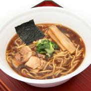 弟子屈魚介しぼり醤油 カップ麺12食入り〔156g×12食〕