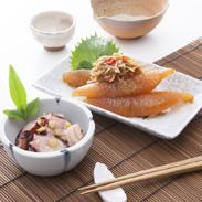 数の子松前、たこわさびセット 株式会社竹田食品 北海道 モンドセレクション、農林水産大臣賞など、これまで数々の受賞に輝く商品のセット。