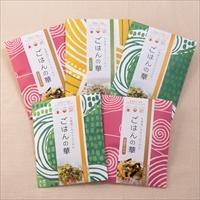 ごはんの華 5袋 ギフトセット 〔ごはんの華(40g)×2、鮭節のり昆布(35g)×2、山わさび(30g)〕 北海道 無添加 ふりかけ やまこ 天然生活