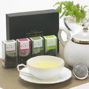 素材本来の味を生かした新ブランド茶 Ma cha-ippe かごしま茶 トング茶漉しセット お茶のにいやま園・鹿児島県