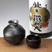 純米吟醸 北の微笑  金滴酒造株式会社 北海道  北海道の人々から愛好される酒米の里の名酒