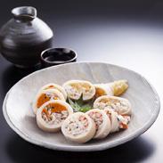 いか枕詰合せ 兼八水産株式会社 北海道 函館の郷土料理「いかわさび漬山海味」をさらに豪華にアレンジ